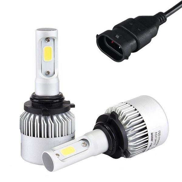 Светодиодная лампа H11 с охлаждением HighBe 9-32V 36W комплект 2шт