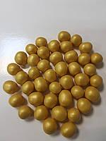 Посыпка круглая рисовая золото 10 мм, 50г  Галетте - 06621