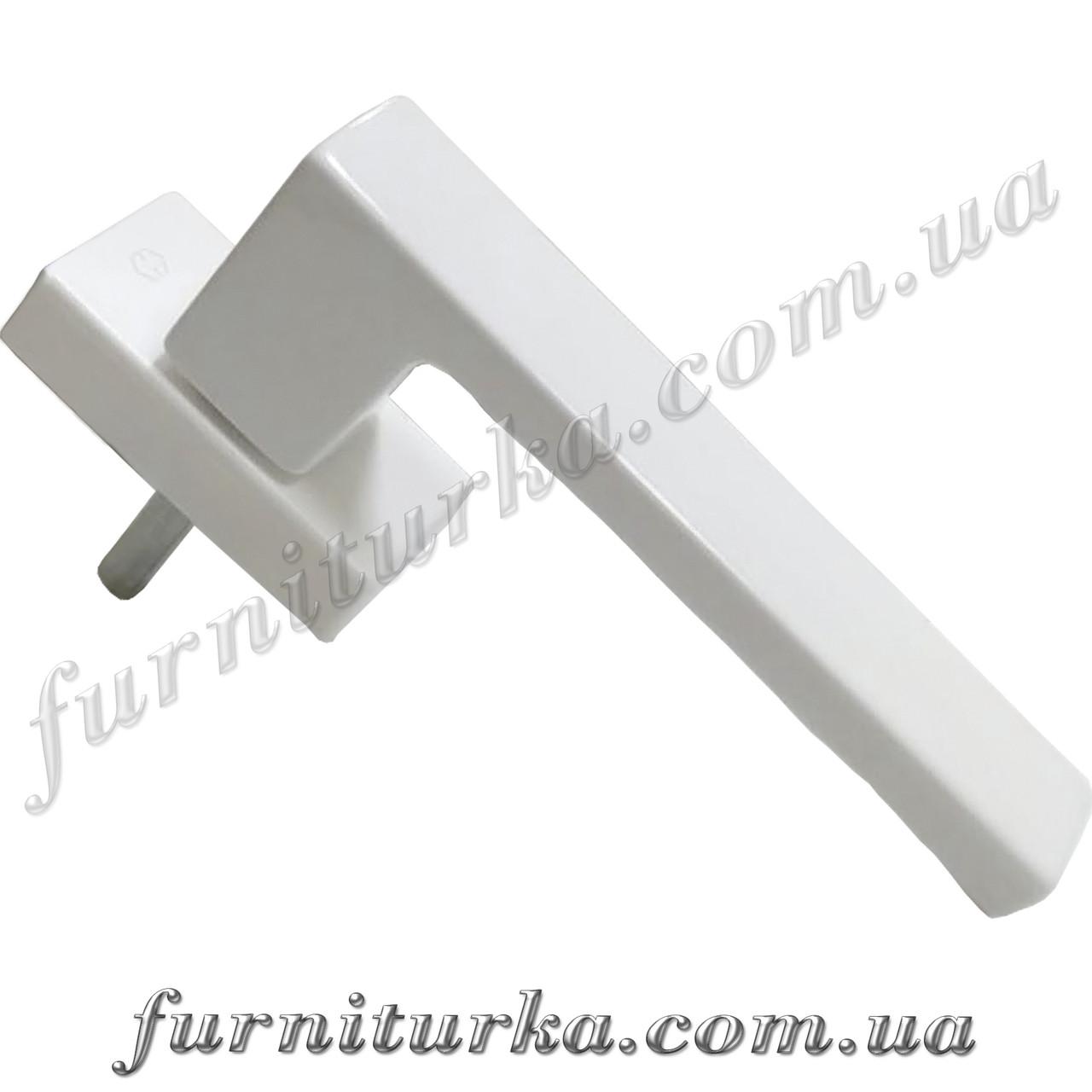 Ручка оконная Hoppe Toulon Secustik®, белая