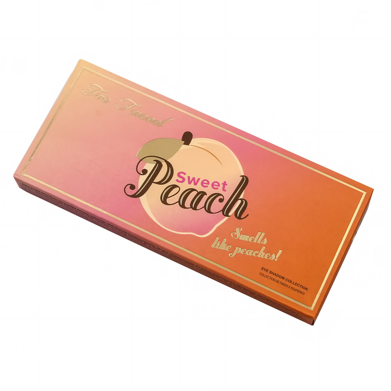 Палетка теней для век Too Faced Sweet Peach Eye Shadow Collection