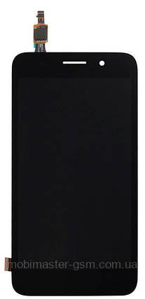 Тачскрин (сенсорный экран) HUAWEI Y3 2017 (CRO-U00) черный, фото 2