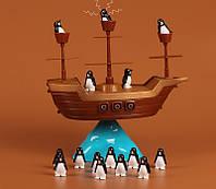 Настольная игра-конструктор Boat Pirates! пингвины на корабле (Balancing: The Game) пингвинопад