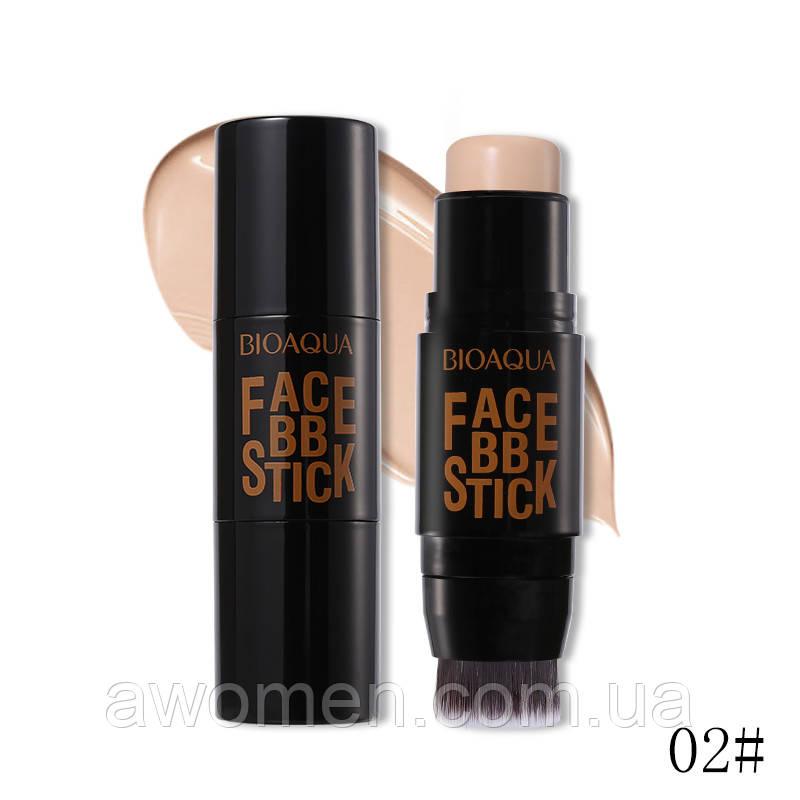 Тональный BB-стик Bioaqua Face BB Stick № 02 (Light)
