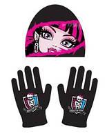 Теплая Шапка и перчатки Школа Монстров