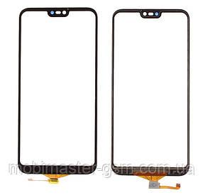 Тачскрин (сенсорный экран) для Huawei P20 Lite черный