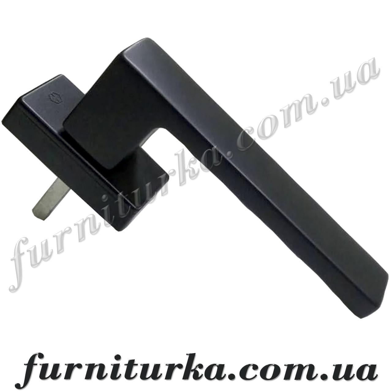 Ручка оконная Hoppe Toulon Secustik®, чёрная