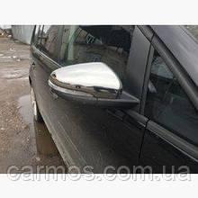 Хром накладки на зеркала volkswagen golf 6 (фольксваген гольф 6), нерж. 2 шт CARMOS