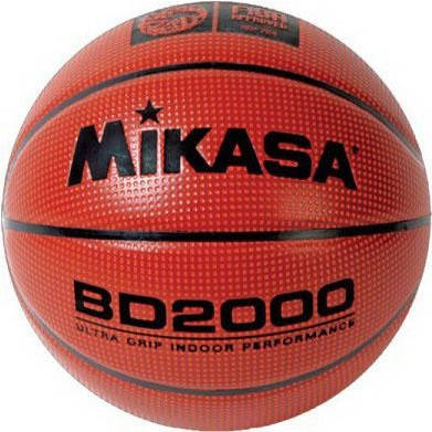 Мяч баскетбольный Mikasa BD 2000, фото 2