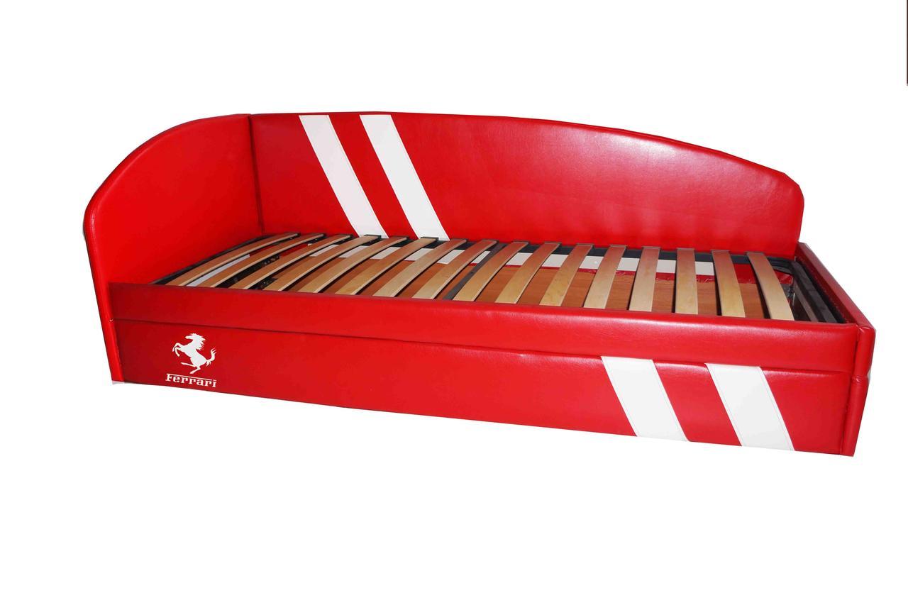 Детская кровать-диван Гранд Лайт Феррари 80х190 (металлический каркас)