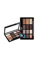 Палитра для макияжа Malva Cosmetics Pro Eyeshadow & Contour & Highlight  М 493