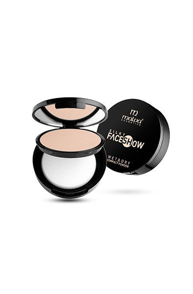 Пудра для лица Malva Cosmetics Silky FaceShowWET&DRY SM2502