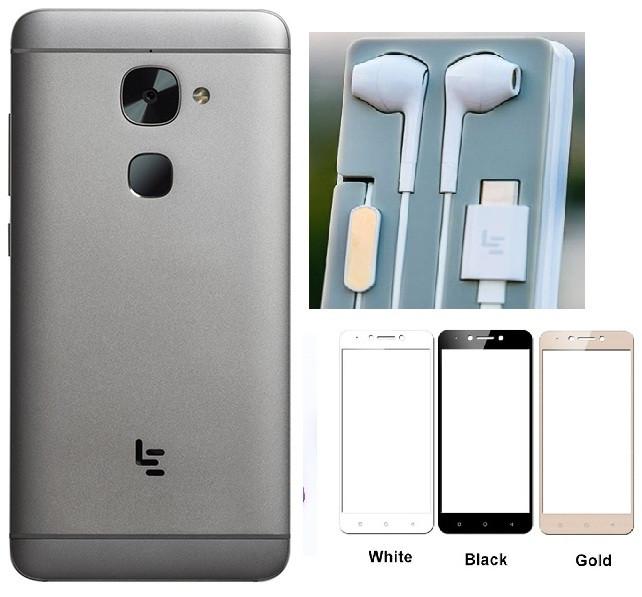 LeEco Le S3 X522 3/32GB Gray +чехол+пленка+наушники Snap 652/ 16+8Мп/ 3000мАч быстрая зарядка