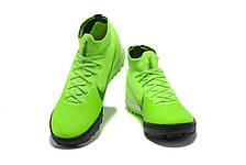 Сороконожки футбольные Nike Mercurial Super FLY c носком 1113 реплика, фото 3
