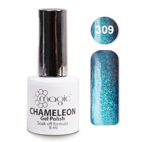 Гель-лак Magic CHAMELEON Gel Polish 8ml  № 309/ Хамелеон