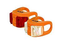 Велосвет KLS Twins Orange, КОД: 212584
