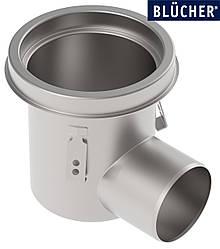 Промисловий трап Blucher 763.502.110, нержавіюча сталь, горизонтальний вихід DN110