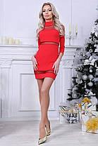Платье вставка сетка в расцветках 20279, фото 3