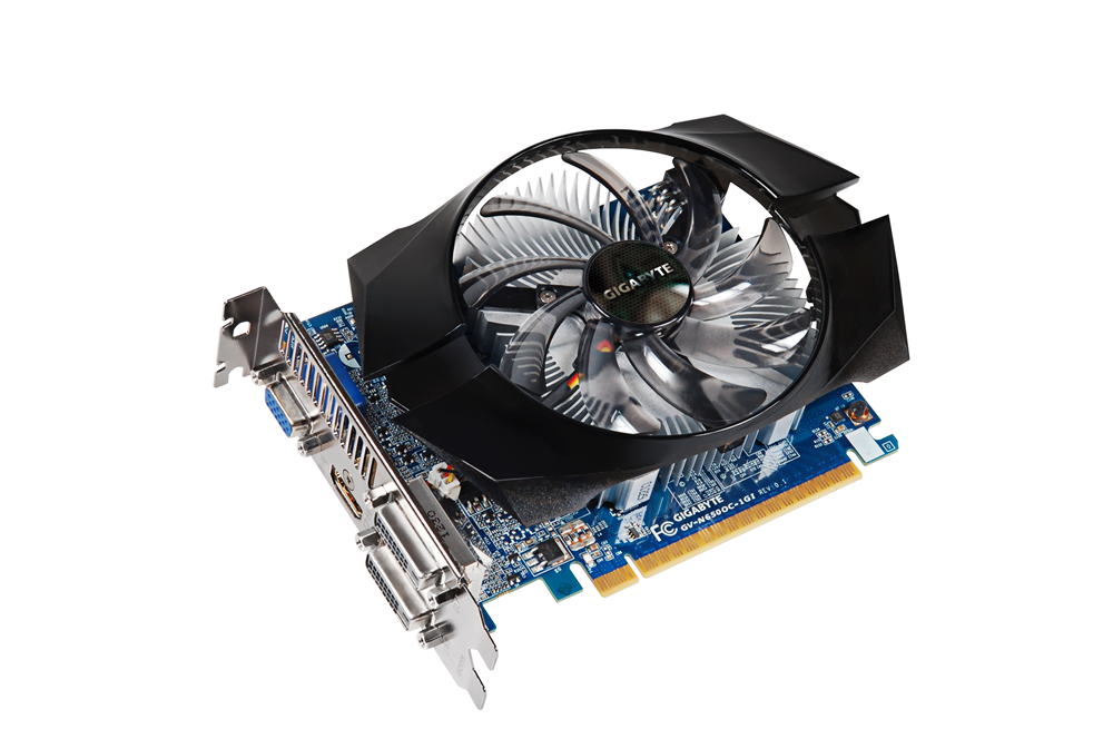 Gigabyte GeForce GTX650 1Gb DDR5  Гарантия 3 мес.