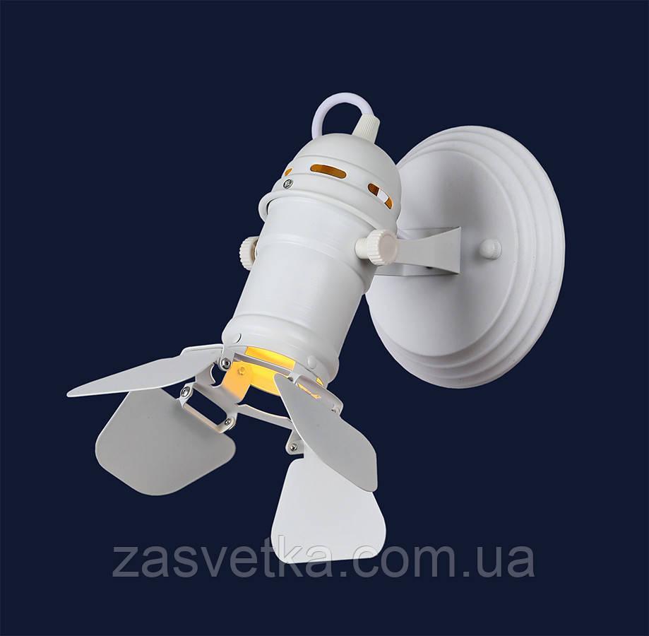 Бра  прожектор лофт Е27  761BSD01-1 WH