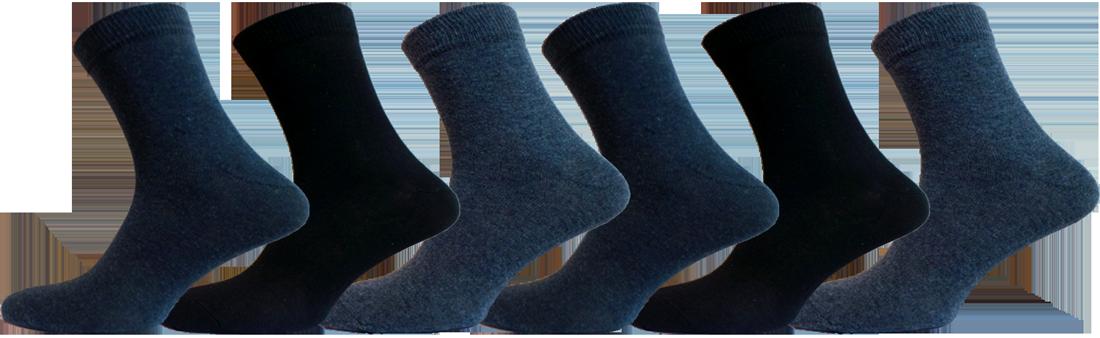 """Чоловічі шкарпетки ХБ мікс """"lomani"""""""