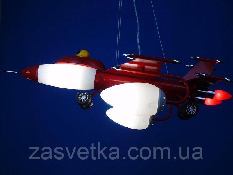 Люстра в детскую самолет