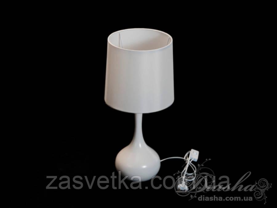 Стильная настольная лампа 8416WH