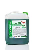 Антифриз зеленый канистра 10 кг TEMOL Antifreeze Extra G11 Green Зелений антифриз Ж11 Антифриз g11 каністра