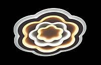 Светодиодная люстра с порежимным включением потолочная   6609-53*53, фото 1