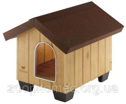 Будка домик DOMUS LARGE Ferplast (Ферпласт) для крупных собак 81,5*102,5*78 см