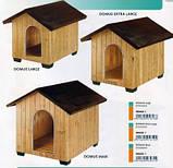 Будка домик DOMUS LARGE Ferplast (Ферпласт) для крупных собак 81,5*102,5*78 см, фото 2