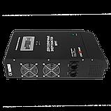 ДБЖ з правильною синусоидойLogicPower LPY-З-PSW-5000 VA (3500W) MPPT 48 V для котлів і аварійного освітлення, фото 5