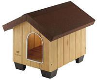 Будка домик DOMUS MEDIUM Ferplast (Ферпласт) для собак средних размеров 73*85*67,5 см