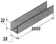 Профиль для потолка. UD-3м.(22x28х0,40) BudmonsteR