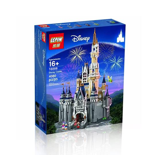 """Конструктор Lepin 16008 """"Замок Дисней"""" (аналог Lego Disney 71040), 4080 дет"""