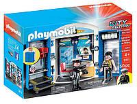 Игровой набор ПлейМобил Полицейский участок PLAYMOBIL Police Station Play Box