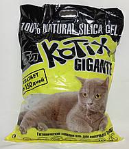 Наповнювач Kotix 6,9 кг (15 л) силікагелевий для туалетів для кішок