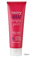 Etude House Berry AHA Bright Peel Perfect Scrub Скраб с экстрактом черники