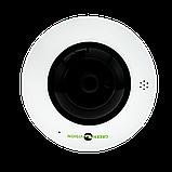 Купольная IP камера для внутренней установки GreenVision GV-076-IP-ME-DIS40-20 (360) POE, фото 3