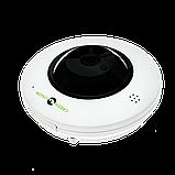 Купольная IP камера для внутренней установки GreenVision GV-076-IP-ME-DIS40-20 (360) POE, фото 4