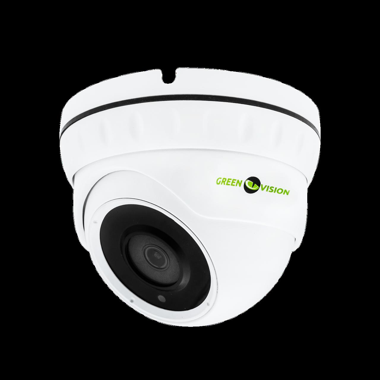 Антивандальна IP камера для внутрішньої і зовнішньої установки Green Vision GV-080-IP-E-DOS50-30