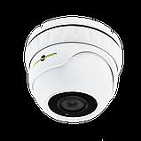 Антивандальна IP камера для внутрішньої і зовнішньої установки Green Vision GV-080-IP-E-DOS50-30, фото 4