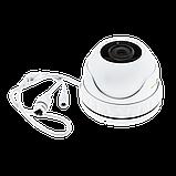 Антивандальна IP камера для внутрішньої і зовнішньої установки Green Vision GV-080-IP-E-DOS50-30, фото 5