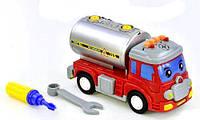 Машинка музыкальная Бензовоз Kronos Toys 1801D (tsi_56336)