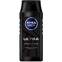 Шампунь-уход для мужчин Ultra Nivea Men с активным углем, 250 мл