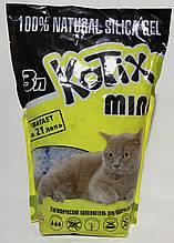 Наповнювач Kotix 1,4 кг (3 л) силікагелевий для туалетів для кішок
