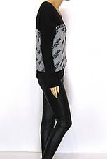Кофта реглан женская трикотажная Balenciaga, фото 2