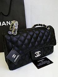 Женская сумка  Шанель 2.55 Caviar золото