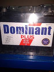 Акумулятор DOMINANT PLUS 12V 60AH 540A