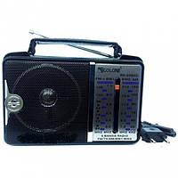 Всеволновой радиоприемник Golon RX-606ACW, AM/FM/TV/SW1-2, 5-ти волновой, фото 1