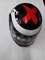 Шлем интеграл 'F2' #825-2 Black , фото 1